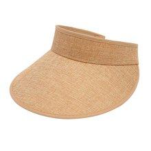8bf7d306af1 2018 New Summer Long Visors UPV50 Sun Protection Outdoor Sport Hats For  Women Men Empty Top Caps Visor Hat