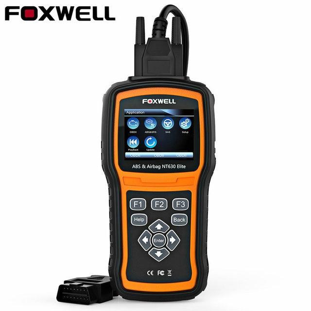 442c99a3feea52 Foxwell NT630 Elite OBD2 ABS Airbag Scanner Automobile SRS Réinitialisation  Des Données de L accident
