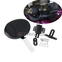 Motorcycle Adjustable Motorcycle Plug In Driver Rider Backrest Kit For Harley Touring FLTR FLHT 97 17