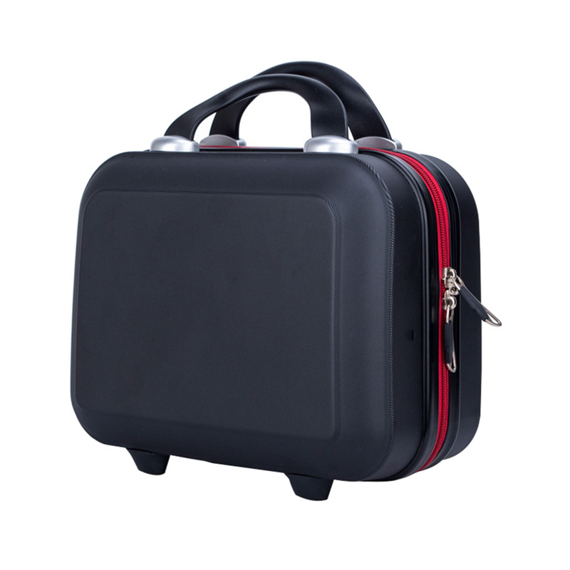 Small Luggage Suitcase Hard Bag Travel Women Clothes Electronic Cosmetic Toiletry Box Case Weekend Necessary Accessories