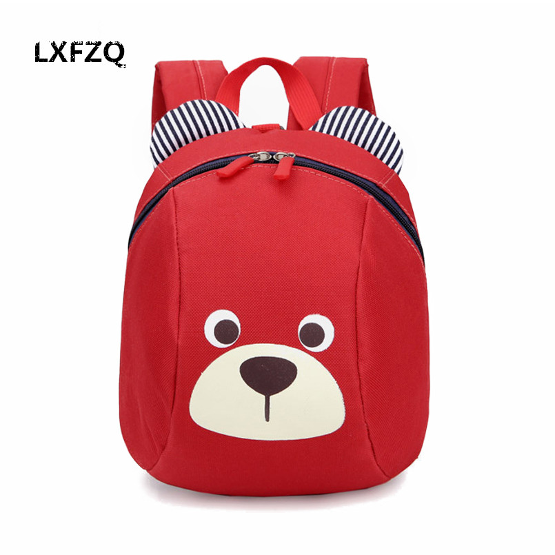 LXFZQ mochila infantil children school bags cute Anti-lost childrens backpack school bag backpack for children Baby bags ...
