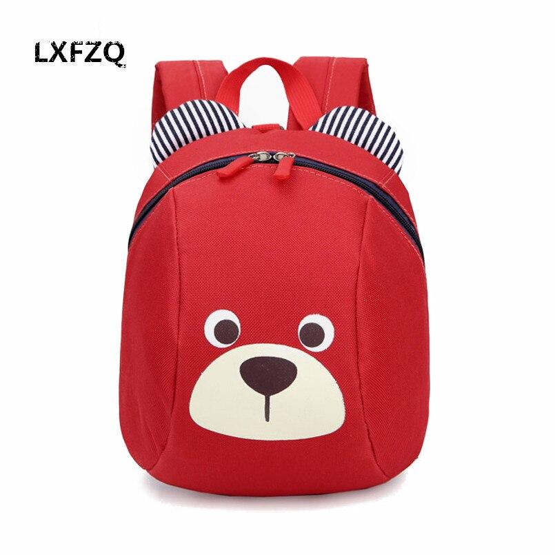 LXFZQ mochila infantil kinder schultaschen netter anti-verlorene kinder rucksack schultasche rucksack für kinder Baby taschen