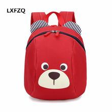 Lxfzq Mochila infantil dzieci szkolne torby słodkie Anti-Lost dzieci plecak szkolny plecak torba dla dzieci torby dla niemowląt tanie tanio School Bags Nylon Zamek Dziewczyny 13cm Innych 21cm 0 18 kg Kreskówki 26CM Chiny (kontynent) Unisex