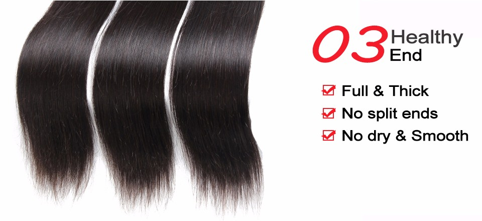 7a malaysian straight hair 4 bundles