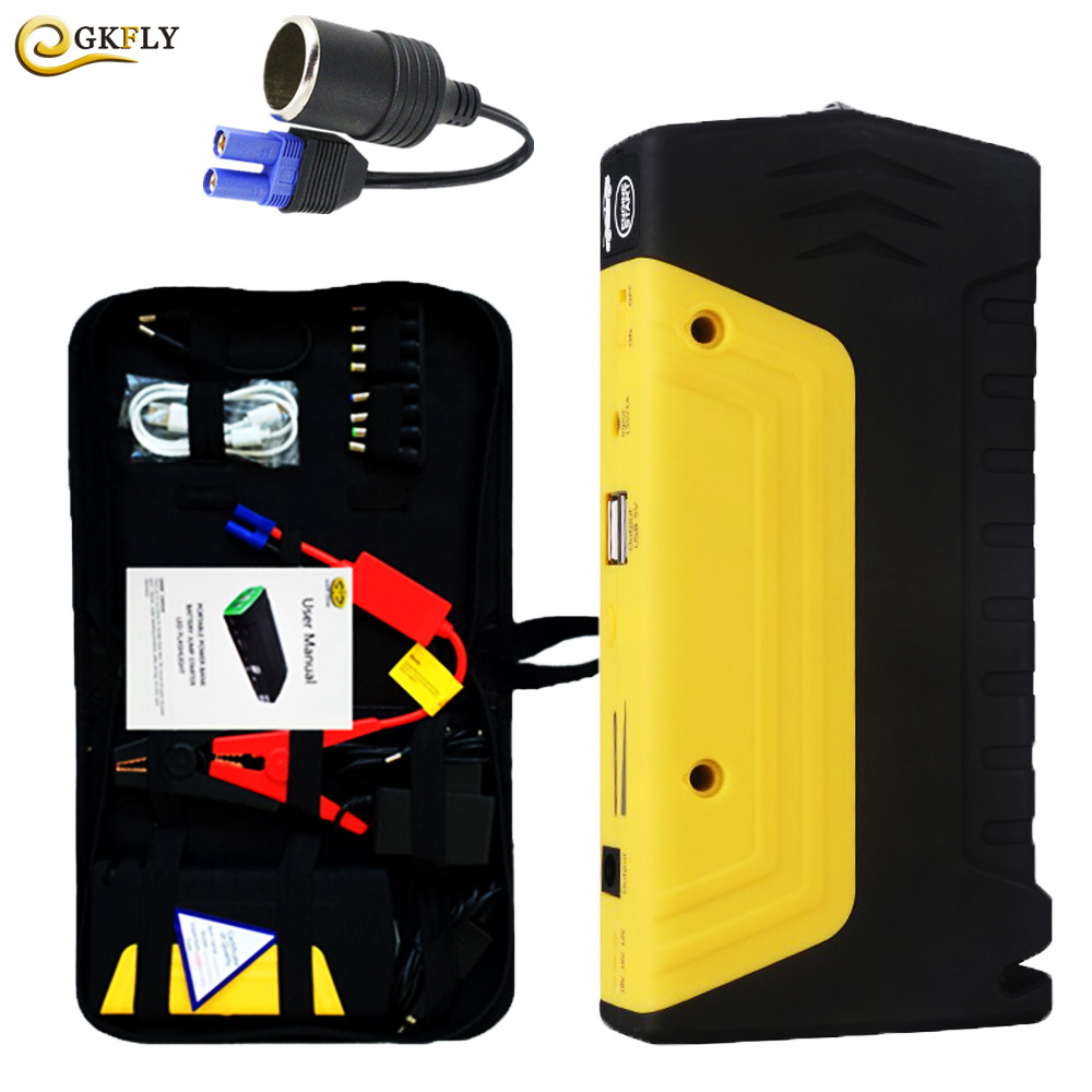цена Best Car Jump Starter High Power Portable Car Charger for Petrol/Diesel Cars Starter Car Emergency Auto Battery Booster Starter