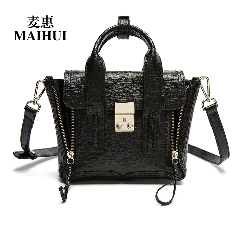 designer women leather handbags high quality real genuine leather shoulder crossbody bags new fashion small woman trapeze bag