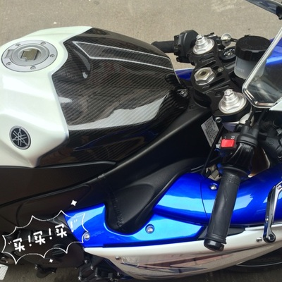 Tank Cover For Yamaha R1 2009 - 2014  Full Carbon Fiber 100%
