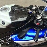 Tank Cover For Yamaha R1 2009 2014 Full Carbon Fiber 100%