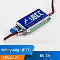 2Pcs/Lot Hobbywing 5V 6V switchable Switch-Mode Ultimate BEC (UBEC) 5V RC 3A U-BEC UBEC 5.5-26V ESC WORK WITH 2-6S LIPO BATTERY