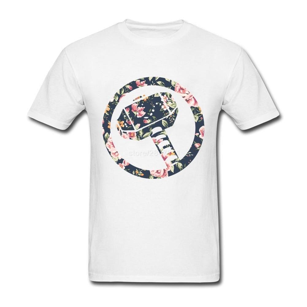 Design your own t shirt in pakistan - Men Graphic T Shirts New Designs Floral Thor Couple T Shirt Design Short Sleeve Boyfriend S Xxxl
