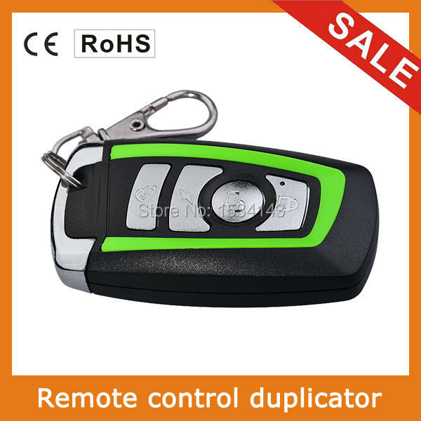 Top selling!! 4 channel universal remote control duplicator Copy Code Remote 433 mhz learning garage door opener free shipping chunghop rm l7 multifunctional learning remote control silver