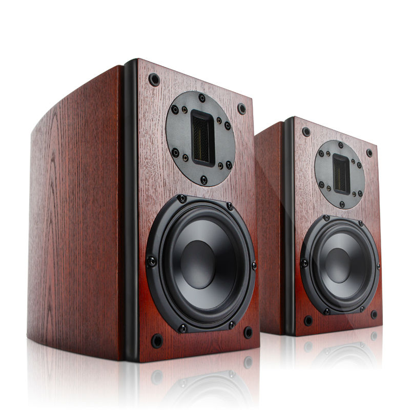 High End Speakers >> Cav Fl 21 High End Bookshelf Speaker Wood Veneer Finished High
