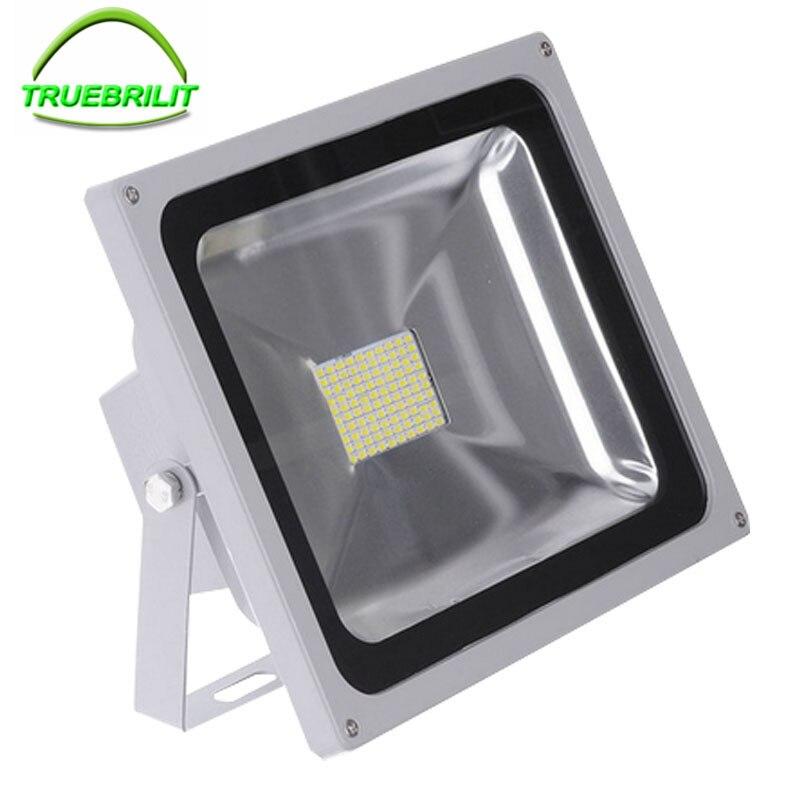 Led Flood Lights Outdoor Wall Lighting 10W 20W 30W 50W LED Floodlight SMD  Spotlight Lamp Wall Light Reflector 85 265V