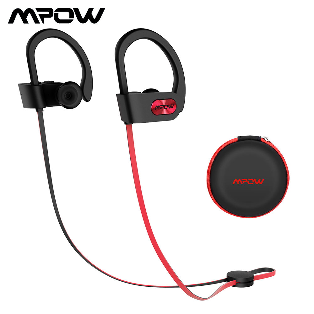 Mpow Flame 088A Bluetooth Headphone IPX7 Waterproof Sport Wireless Headset Sports Earphones Earbuds With Mic For