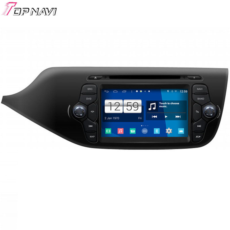 Top Newest Free Shipping Quad Core S160 Android 4 4 Car DVD GPS For 2013 Ceed