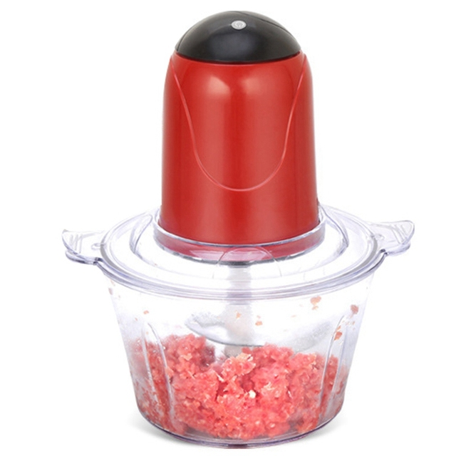 Automatic Powerful Electric Meat Grinder Multifunctional Electric Food Processor Electric Chopper Meat Slicer Cutter Blender(E