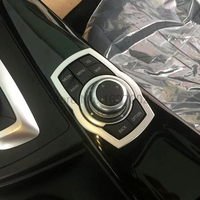 Fit For BMW 3 Series 2016 Car Multimedia Adjustment Button Switch Cover Trim Bezel Decoration Interior