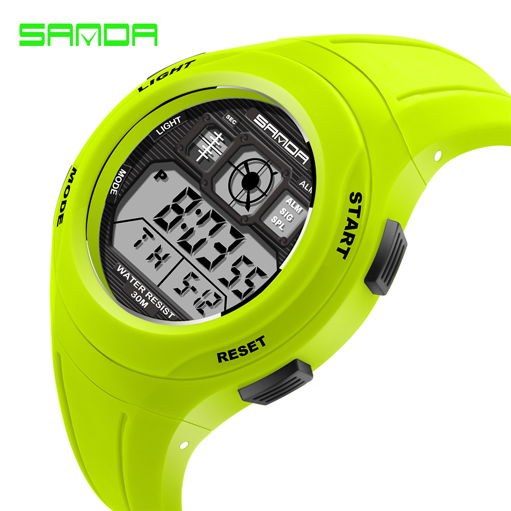 SANDA Children s Watches Cute Kids Cool Sports Watch for Girls and Boys Rubber Children Digital