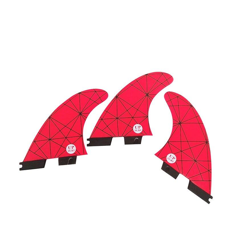 Tri fin set FCSII G5 M Taille Planche De Surf Honeycomb Fins FCS 2 Fin Vente Chaude FCS II Fin Quilhas
