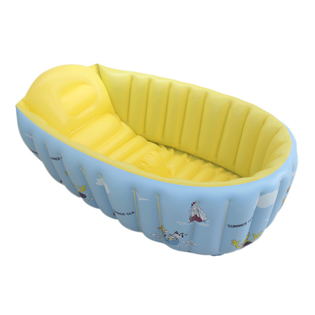 Inflatable toys Thick pvc inflatable infant children newborn baby bathtub bath tub bath basin sink