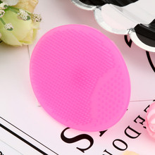 Silicone Beauty Wash Pad Face Exfoliating Blackhead Facial Cleansing Brush