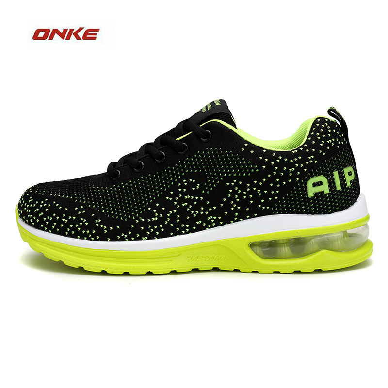 ONKE Man Outdoor City Jogging Sneaker Air Sole Breathabe Summer Sneaker Superstar Cozy Sports Running Shoes Black Colors