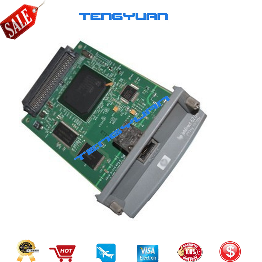 Free shipping 100% new original JetDirect 620N J7934A Ethernet Internal Print Server Network Card and Design Jet Plotter Printer