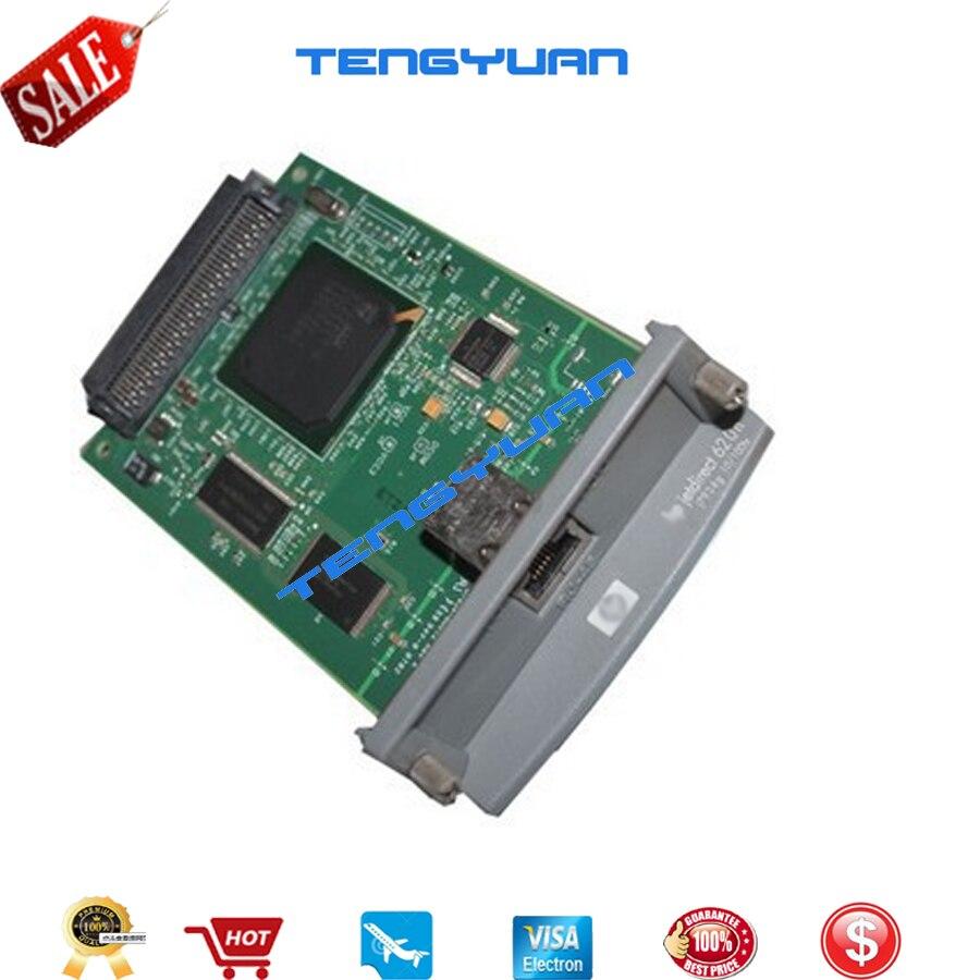 Livraison gratuite 100% nouveau original JetDirect 620N J7934A Ethernet serveur d'impression interne carte réseau et conception imprimante Jet traceur