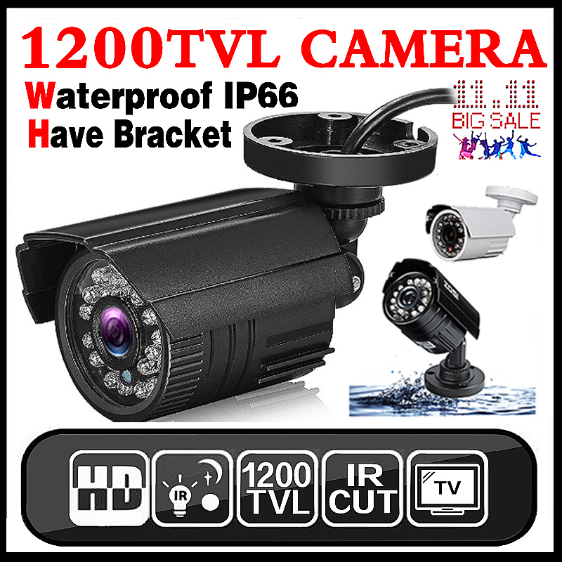 11.11Hot Sale Real 1200TVL Mini Analog HD CCTV Camera Outdoor Waterproof IP66 24led IR-CUT infrared Security Surveillanc Vidicon new english for samsung np700z7a np700z7b np700z7c backlit keyboard us laptop keyboard with c shell