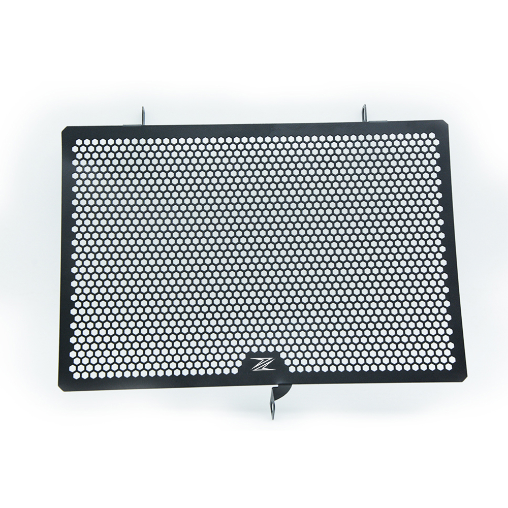 Motorcycle Stainless Steel Radiator Guard Protector Grille Grill Cover For KAWASAKI Z750/Z1000 2010-2016 Z800 2013-2016 Z LOGO arashi motorcycle radiator grille protective cover grill guard protector for 2008 2009 2010 2011 honda cbr1000rr cbr 1000 rr
