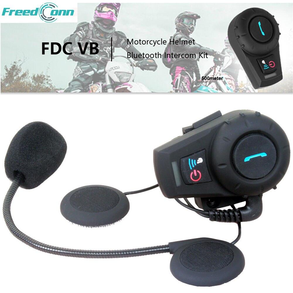 Nouveau! FM 3 coureurs étanche bt bluetooth interphone interphone casque pour moto moto casque intercommunicador FDCVB 3691