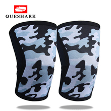 Knee Sleeves for Weightlifting (1 Pair) Basketball Pads Support & Compression Powerlifting Crossfit - 7mm Neoprene Sleeve