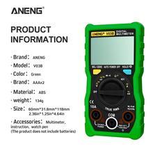 ANENG V03B LCD analog Digital Multimeter tester 4000 Counts multimetro esr meter multimeter auto power off peakmeter auto peakmeter ms84 digital multimeter