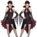 Moonight bruja de halloween costume dress uniform party en nombre del vampiro demonio traje de cosplay