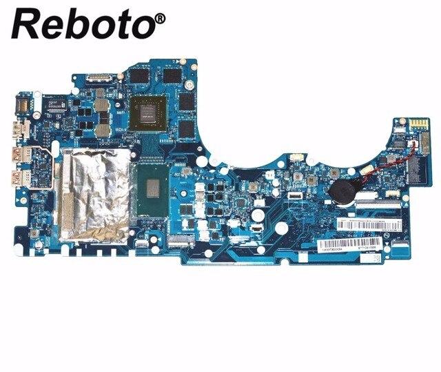US $379 05 5% OFF|Reboto FOR Lenovo Y700 Y700 17ISK Laptop motherboard  5B20K37628 NM A541 With i7 6700HQ 2 6Ghz CPU HM170 GTX 960M 2GB DDR4-in