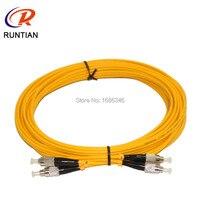 Melhor preço 10 m único núcleo redondo cabos de fibra óptica para impressora de grande formato