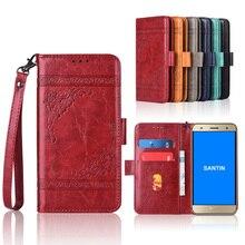 Funda tipo billetera para SANTIN ACTOMA ACE, funda con correa, 100% especial PU con estampado Floral, funda con soporte y bolsillo para tarjetas