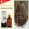 2 unids 30 ml buen champú del crecimiento del pelo rápido suero para mujeres hombres tratamiento de pérdida de cabello fibras del edificio del pelo-de más rápido crecimiento