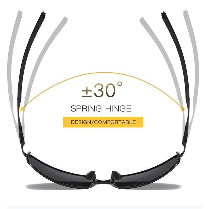 Aoron Sunglasses Mens/Women Polarized Sunglasses,Outdoor Driving Classic Mirror Sun Glasses Men,Metal Frame UV400 Eyewear 3