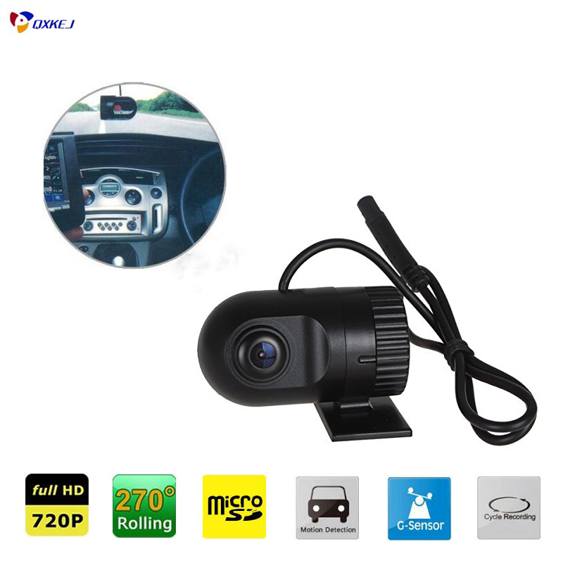 New arrival Novatek 1920*1080P HD Smallest Car Camera 140 high definition wide-angle lens 12V Car DVR Cam recorder G-sensor