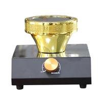 220v 400w portátil elétrico sifão fogão de café forno elétrico infravermelho café leite bule chá 7 minutos rápido halogênio aquecedor máquina