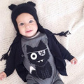 Baby Rompers Cartoon Cat Printed Baby Boy Girl Long Sleeve Jumpsuit For Infant Newborn Kids Body Suits Clothes