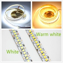 LED Strip 2835 SMD 240LEDs/m 5M 300/600/1200 Leds DC12V High Bright Flexible Rope Ribbon Tape Light Warm White / Cold