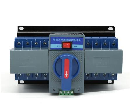 4 P 63A 380 V SCHUTZSCHALTER typ Dual Power Automatic transfer switch