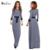 Nuevo estilo de las mujeres ropa islámica abayas jilbab abaya musulmán vestido largo impresión de moda femenina a cuadros del diamante vestidos