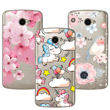 Cute Dog Case Fundas Fundas For LG K5 X220 Soft TPU Flowers 3D Relief Lace Cover Capa For LG K 5 K5 5.0