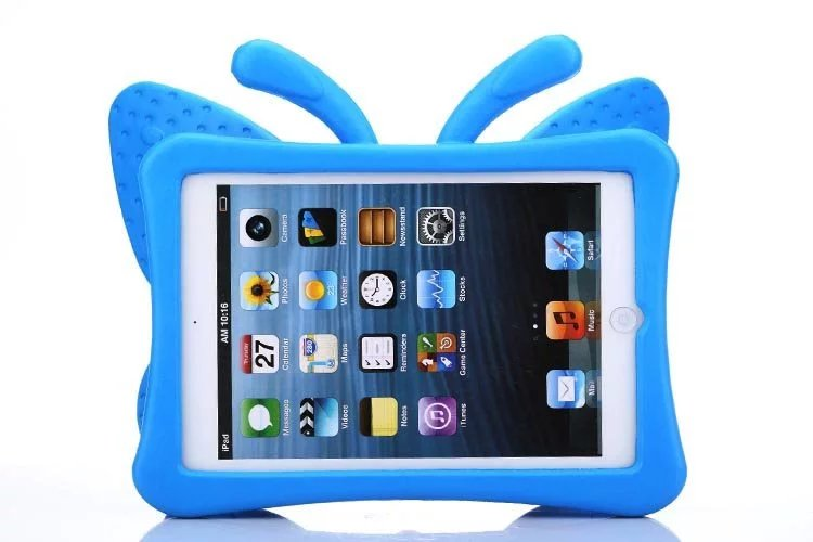 Case Cover For Apple iPad mini 1 2 3 Lovely Cute 3D Cartoon Stand Kids Shockproof
