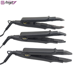 1 pc JR-611 A/B/C ponta Professional Hair Extension Fusão de Ferro Calor Conector Ferramenta de Fusão Wand Ferro + DA UE, AU, EUA, REINO UNIDO tomada
