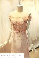 Floor Length Applique Long Prom Party TK1328 Vestidos De Festa Ball Gown Taffeta Women Evening
