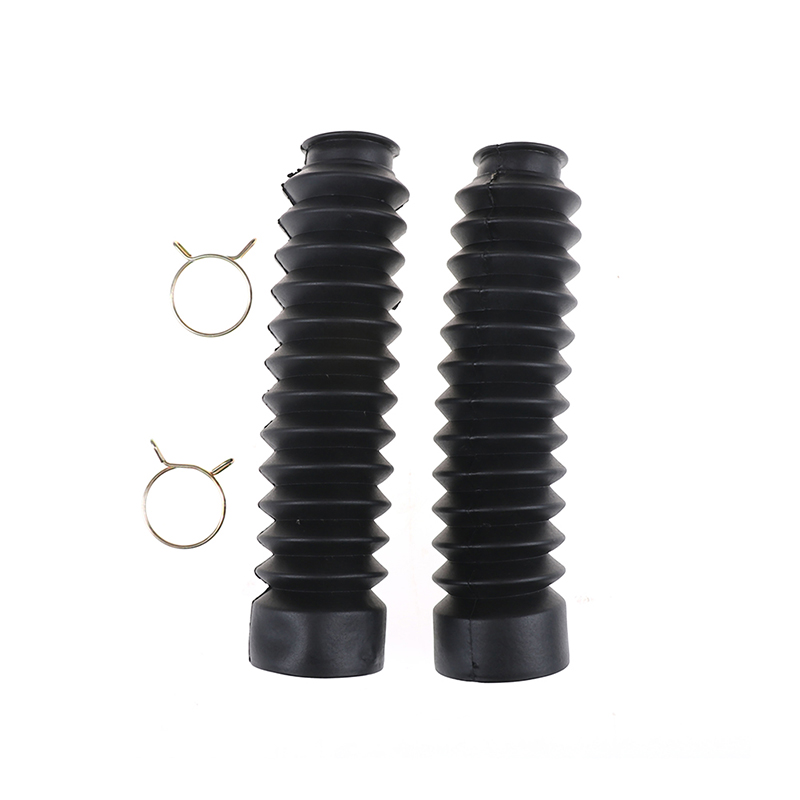 2Pcs/Set Motorcycle Front Shock Fork Rubber Boots Dust Jacket Cover For Motor Dirt Bike